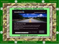 Garmin United Kingdom & Ireland Maps Micro Sd Card